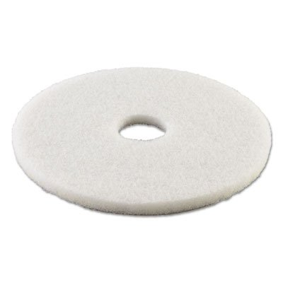 Boardwalk BWK4013WHI Standard Polishing Floor Pads, 13