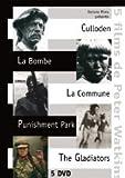 Peter Watkins Collection - 5-DVD Box Set ( The Battle of Culloden / The War Game / La commune (Paris, 1871) / Punishment Park / The Gladiators ) ( Culloden / La bombe / La commune [ NON-USA FORMAT, PAL, Reg.2 Import - France ]