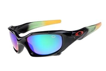 Oakley Pit Boss Colorful Black Frame Rainbow Lens 2017