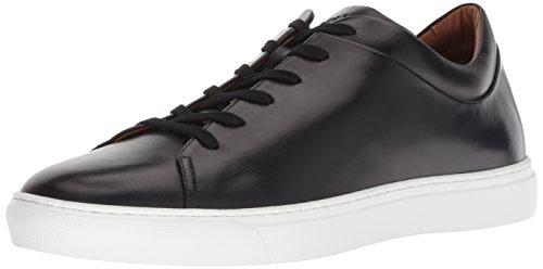 - Aquatalia Men's Alaric Calf Sneaker, Black, 7.5 M US