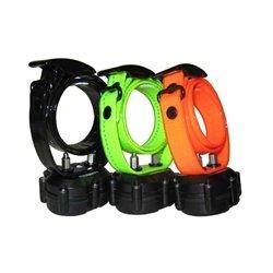 Micro-iDT Remote Dog Trainer Add-On Collar in Orange
