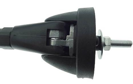 Antena de techo Universal ajustable barras de casquillo de cable de coche autobús de coche: Amazon.es: Electrónica