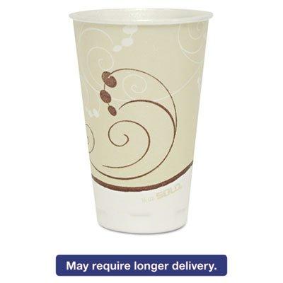 Symphony Trophy Plus Dual Temperature Cups, 16 Oz, 750/carton