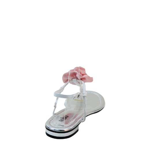Nya Brieten Kvinna Blomma Strappy Flip-flop Komfort Platta Sandaler