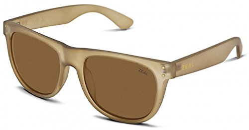Zeal Optics Unisex Ace Desert Sand W/ Polarized Copper Lens - Zeal Sunglasses