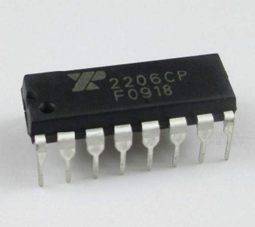 [해외]co.opmart 1pcs XR-2206 XR2206CP XR2206 Monolithic Generator DIP IC new / co.opmart 1pcs XR-2206 XR2206CP XR2206 Monolithic Generator DIP IC new