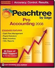 Peachtree Pro Accounting 2008 for PC