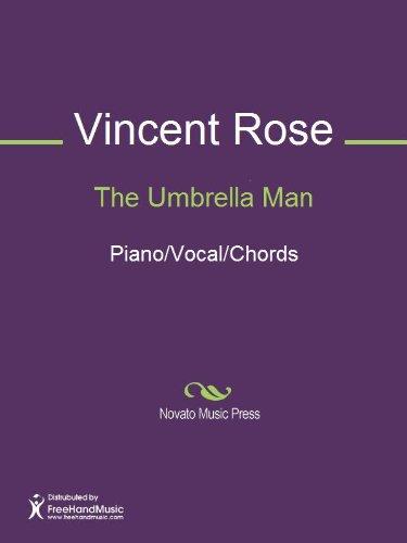 The Umbrella Man Sheet Music Pianovocalchords Kindle Edition