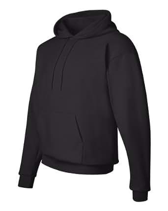 Hanes Adult 7.8 oz 50/50 Pullover Sweatshirt w/hood in Ash - Small