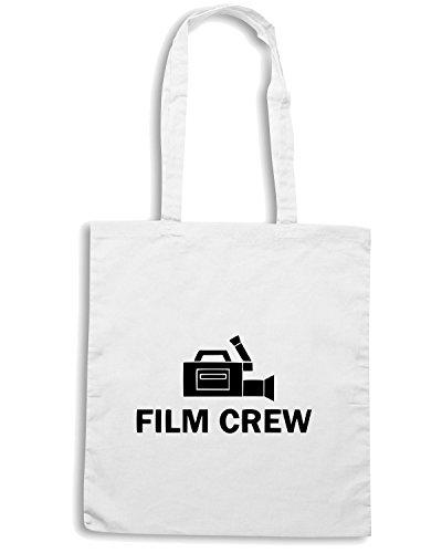 T-Shirtshock - Bolsa para la compra OLDENG00079 film crew Blanco