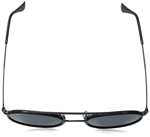 Ray-Ban Metal Unisex Round Sunglasses, Black, 51.1 mm by Ray-Ban (Image #4)