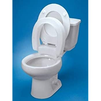 Amazon Com Ableware Tall Ette 2 Inch Elevated Toilet Seat