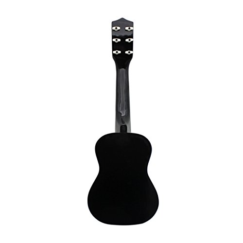 "Blueseason Kids Guitar New Mini 23"" Beginners Student Children Classical Acoustic Guitar, Black - Image 3"