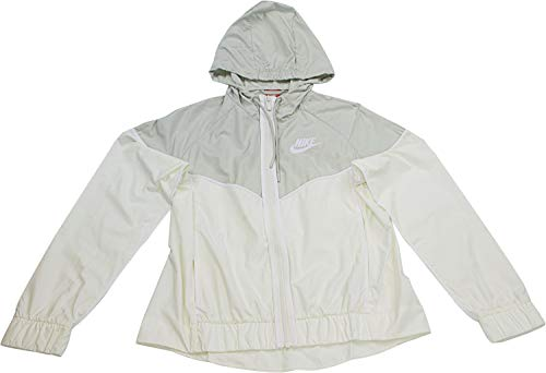 Nike Womens Windrunner Track Jacket Sail/Light Bone/White 883495-133 Size X-Small by Nike (Image #3)