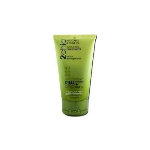 Giovanni Cosmetics 2Chic Conditioner Avocado & Olive Oil, 1.5 Ounce (Olive Fusion Oil)