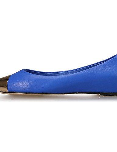 Zehe comodidad Negro Jeans Azul Rojo LÄSSIG puntiaguda Zapatos Guantes idamen Denim tacón bailarinas shangy plano azul azul cerrados 4vfpx