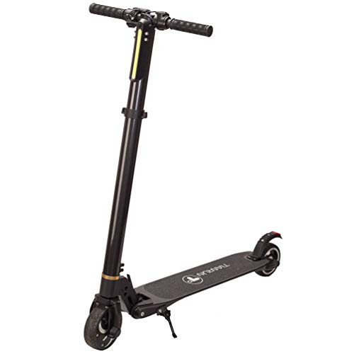 T i anRun Electric Scooter 10-15 Mph & Range 8-15 Miles 8.8Ah Battery Easy Foldable Carbon Fiber Commuter E-Scooter Bicycle for Adult up to 264lbs