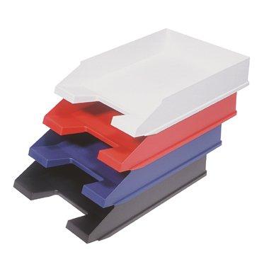 10 Ablagekorb Briefkorb Briefablage Briefkorbe Schwarz Amazon De