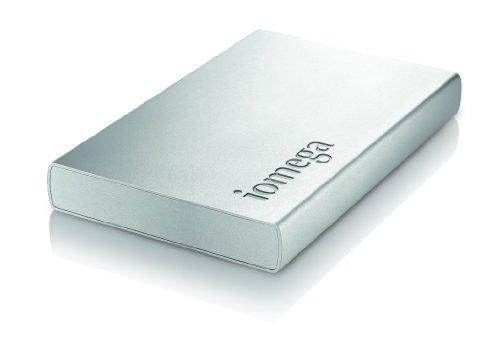 Iomega Helium 1 TB USB 2.0 External Hard Drive - 35423 (Silver)