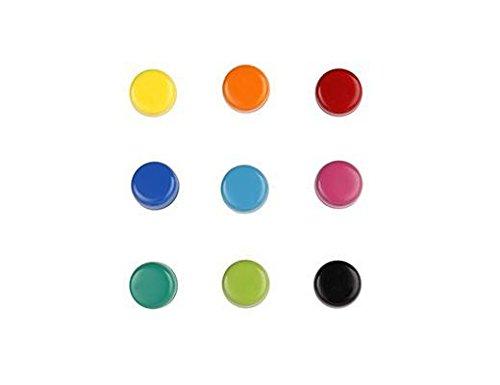 Kikkerland MG80 Rainbow Magnets (Set of 9), ()