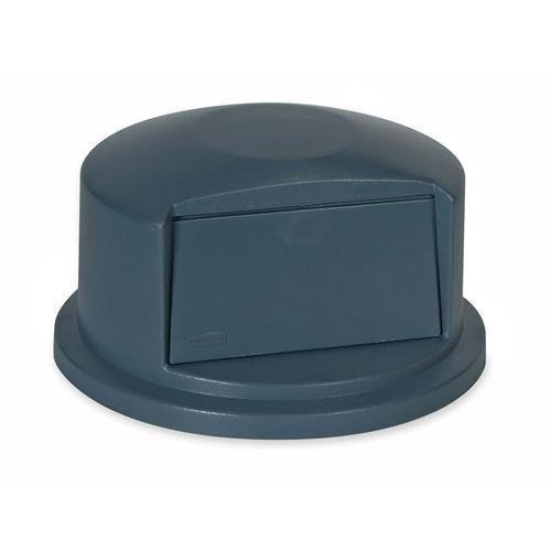 Rubbermaid 263788GY Brute Dome Top Swing Door Lid for 32 Gallon Waste Containers, Plastic, Gray