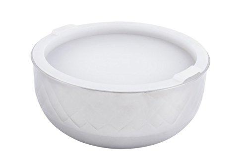 Bon Chef 9317DI 6.37 in. dia. Diamond Collection Cold Wave Bowl with Cover44; 1 quart