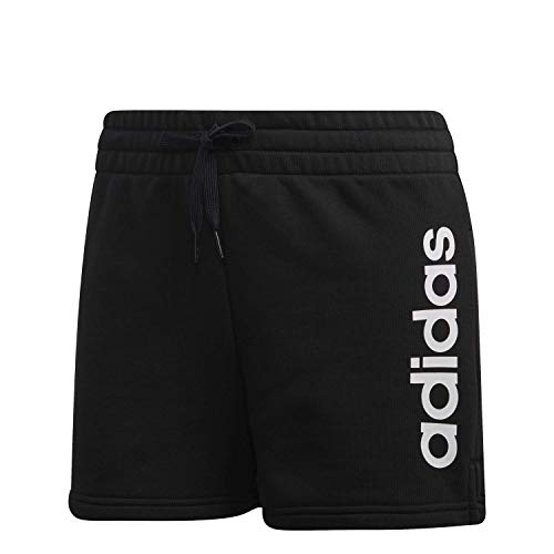 adidas Essentials Women's Linear Logo Slim-Fit Shorts