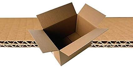 Pack de 10 Cajas de Cartón - 600 x 400 x 400 mm - Canal doble