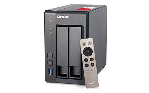 QNAP TS-251+ 2.0GHz Quadcore 8GB Memoria Servidor NAS de 2bahías Bundle 4TB con 2x 2TB HDS