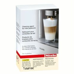 Miele 07189940 Cleaning Agent for Whole Bean Coffee Systems Milk System Pipework 0.09oz 100 count