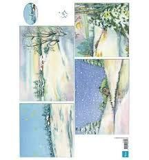Marianne Design Winter Backgrounds Cutouts