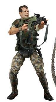 Neca Aliens Series 1 Action Figure (Aliens Marine Costume)