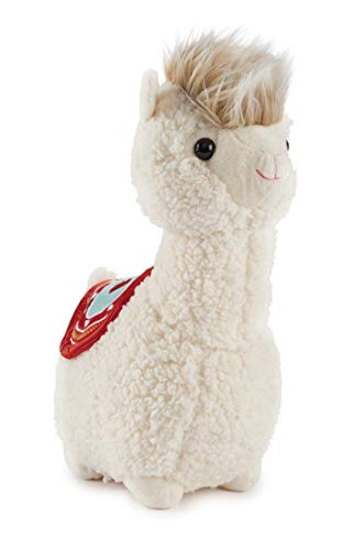 A&T Designs Adorable Llama Alpaca with Mohawk Stuffed Animal Plush Doll Toy (Valentine's Day, Birthday, Just Because Gift)