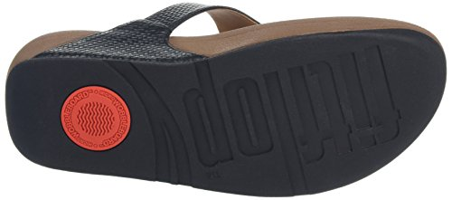 Fitflop the Skinny, Chanclas para Mujer Black (All Black)