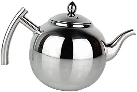 Tea Kettle Stovetop Teapot 1.5//2L Large Stainless Steel Teapot Hot Water Kettle
