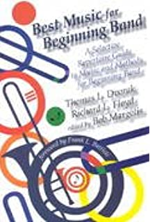 Blueprint for band robert garofalo 0073999258035 amazon books best music for beginning band a selective repertoire guide to music and methods for beginning malvernweather Gallery