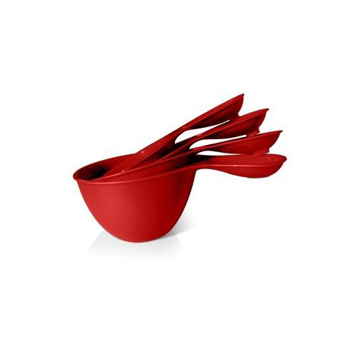 Preserve Measuring Cups Set - Red Tomato - 4 Measuring Cups , Preserve , Misc, Utensils