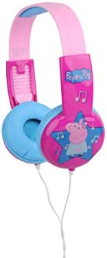This headphone model from 'Sarkar' is a perfect kid-safe headphones for the toddles on plane almost this is best for all kids