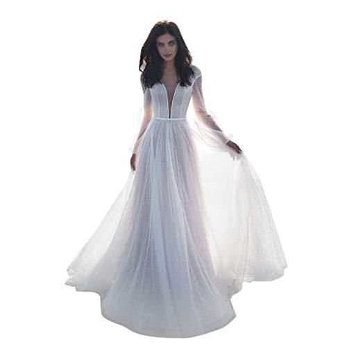 Skeleton Gown - Womens Wedding Dress, Ladies Long Sleeve