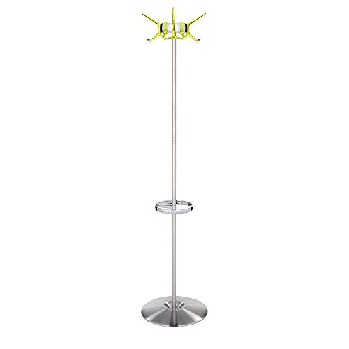 Kartell Hanger Transparent Citron Yellow Clothes Stand