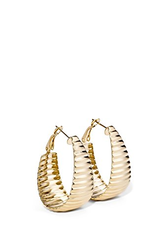 Design Omega Back Earrings - 3