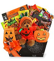 Pumpkin Delight Halloween Basket