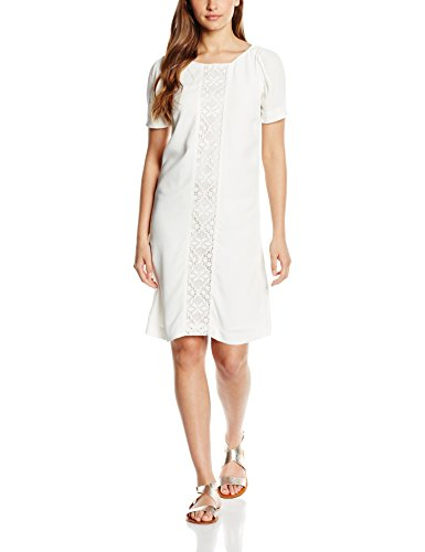 Sinquanone R2766 - Robe - Cocktail - Manches courtes - Femme cru