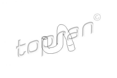 Topran 301 Radiator Hose 433: