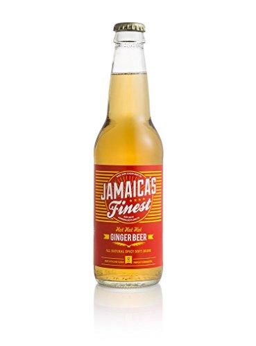Jamaica Ginger Beer - Red Ribbon Hot Hot Ginger Beer 12oz(24pk)