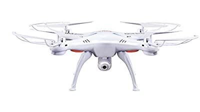 Syma X5SC Explorers 2 - 2.4G 4 Channel 6-Axis Gyro RC Headless Quadcopter With HD Camera - White