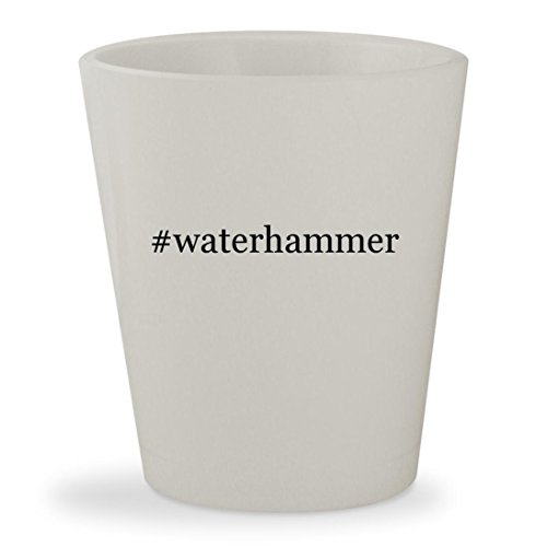 Price comparison product image #waterhammer - White Hashtag Ceramic 1.5oz Shot Glass