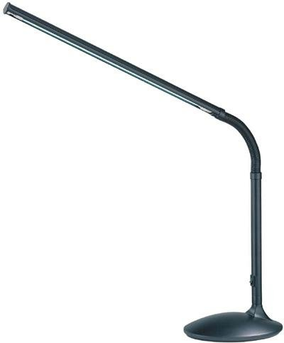 Lite Source LSP-770BLK Alteka Desk Lamp with Black Plastic Shade, 24.5