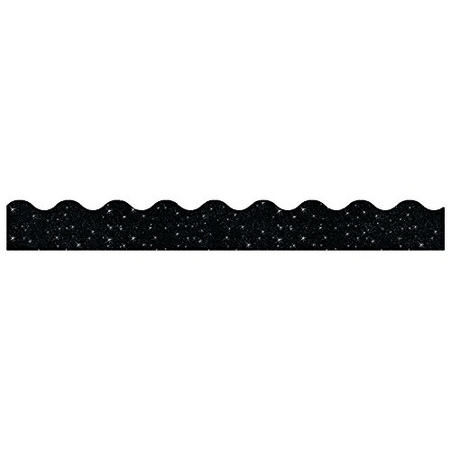 TREND enterprises, Inc. Black Sparkle Terrific Trimmers, 32.5 ft