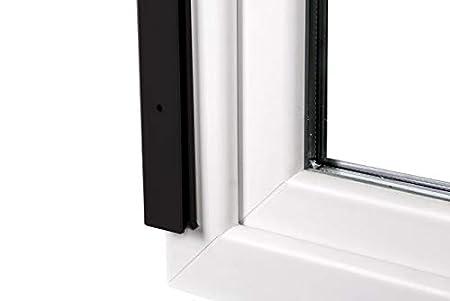 jarolift 4 in 1 Zanzara Insektenschutzrollo Insektenschutz Fenster Alurahmen 160 x 180 cm B x H anthrazit